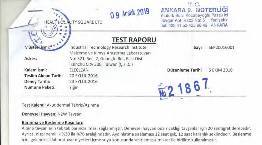 Akut_Dermal Testi